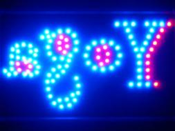 ADV PRO led075-b Yoga Center LED Neon Sign WhiteBoard