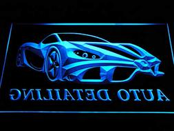 ADVPRO s233-b Auto Detailing Detail Car Wash Neon Light Sign