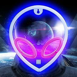 Alien Neon Signs Lights Battery USB Operated Light For Bedro