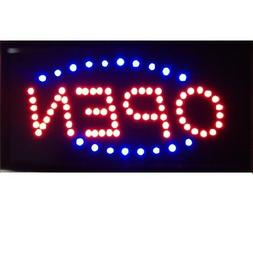 Animated Motion Running LED Business OPEN SIGN +On/Off Switc