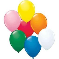 "Qualatex 9"" Balloons, Standard Assortment with White Latex -"