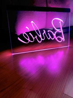 BARBIE LED NEON LIGHT SIGN 8x12