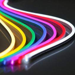 Beauty 1M 12V Flexible LED Strip Waterproof Sign Neon Lights