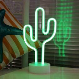 cactus neon signs led neon light sign