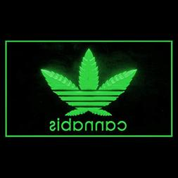 220026 Cannabis Marijuana High Life Drug Weed Hemp Display L