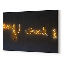 Westlake Art Canvas Print Wall Art - Light Text - Canvas Str