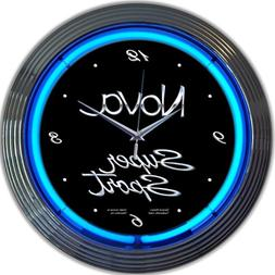 Neonetics Cars and Motorcycles Chevy Truck Neon Wall Clock,