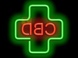 Jantec Sign Group CBD Medical Cross Neon Sign