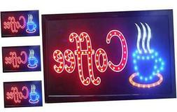 chenxi led open coffee led neon business