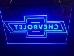 CHEVROLET BOW TIE LED NEON LIGHT SIGN 8x12