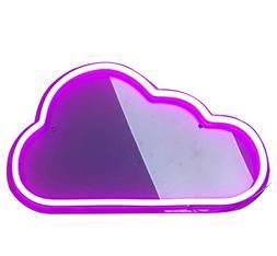 Cloud Neon Sign LED Neon Signs Cloud Handmade Visual Artwork