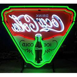 Coca-Cola Ice Cold Shield Neon Sign 5CCICE w /FREE Shipping