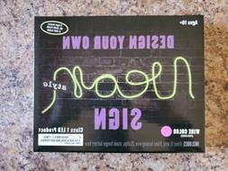Create Your Own Pink Neon Style Sign Room Decoration 6 Feet
