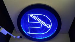 cummins RGB led MultiColor wireless control neon sign Plate