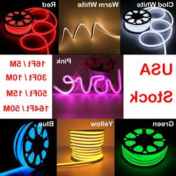 dc12v led flex neon rope light waterproof