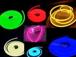 DC12V Super Flex Mini Neon LED Rope Light Commercial Sign Ho