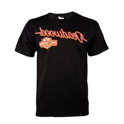Deadwood Harley-Davidson® Men's Neon Sign Black Short Sleev