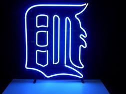 "DETROIT TIGER LOGO LARGER Neon Sign20""x16'' C17"