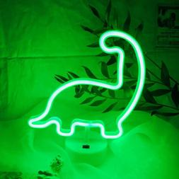 Dinosaur Neon Light Neon Night Lights USB/Battery Powered Ne