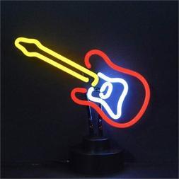 Neonetics Electric Guitar Neon Sign Sculpture