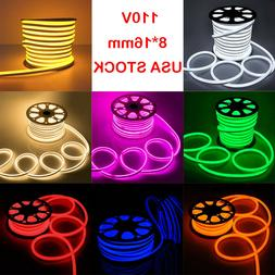 Flex LED Neon Rope Light Home Wedding Commercial Sign Buildi