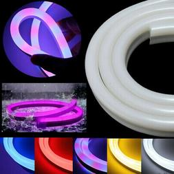 1M-30M LED Flexible Neon EL Rope Glow Wire String Strip Ligh