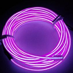 M.best Flexible LED Neon Light Glow EL Wire Rope Tape Cable