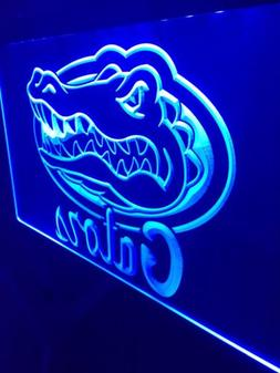 Florida Gators LED Neon Sign for Game Room,Office,Bar,Man Ca