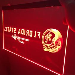Florida State Seminoles LED Neon Sign for Game Room,Office,B