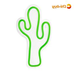 <font><b>CHIBUY</b></font> Novelty Cactus LED <font><b>sign<
