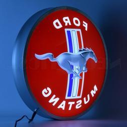 "Ford Mustang Backlit Led OLP Sign Neon Light Sign 15""x15"""