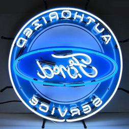 Ford Neon Sign with Silkscreen Backing 5FRDBK w/ FREE Shippi