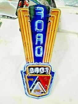 "Ford sign 24"" x 11 Neon style sign in Steel metal Jubilee Mu"