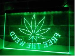 Free the Weed High Life LED Neon Light Sign home decor craft