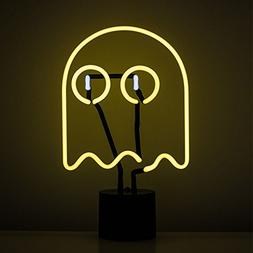 Amped & Co Ghost Neon Desk Light Pacman Style Room lamp, Lar