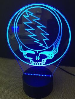Grateful Dead LED Neon Light Sign Man Cave , Game Room ,Bar