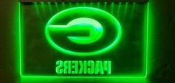 Green Bay Packers LED Neon Sign for Game Room - Office - Bar