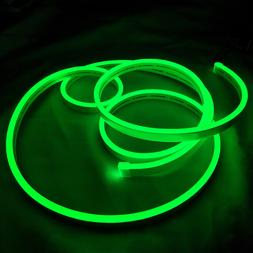 Green Flex Neon LED Rope Light for Car Party Sign Home Decor