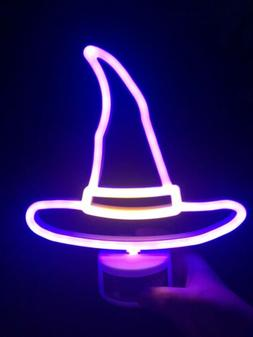 Halloween Neon Sign 2019 Target Witch Hat Light Rare Sold Ou