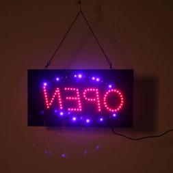 Hanging LED Open Sign Color Display Scrolling Animated Outdo