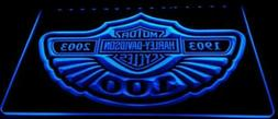 Harley davidson LED Neon Sign for Game Room,Office, Bar,Man