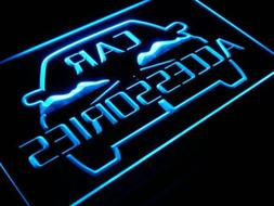 i208-b OPEN Car Accessories Shop Display Neon Light Sign