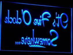 i574-b It's 5 O'Clock Somewhere MARGARITA Light Sign
