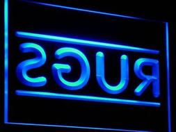 i833-b Rugs Shop Display Area NEW Neon Light Sign