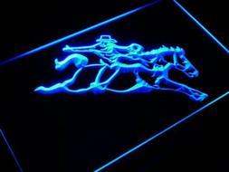j400-b Western Cowboys Horse Neon Light Sign