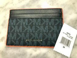Michael Kors Jet Set Signature Neon Edge Unisex Slim Card Ca