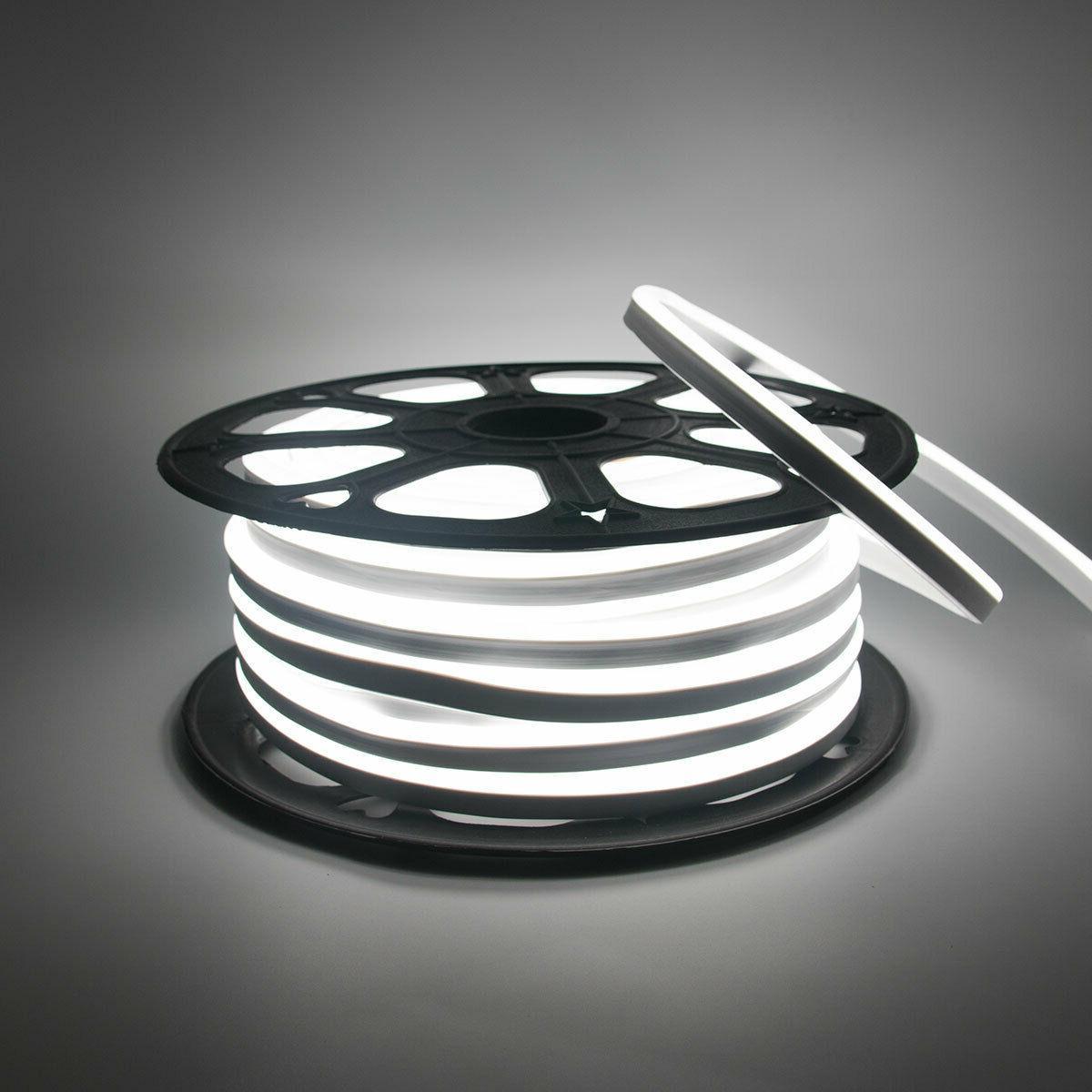 110v 150 white commercial led neon rope
