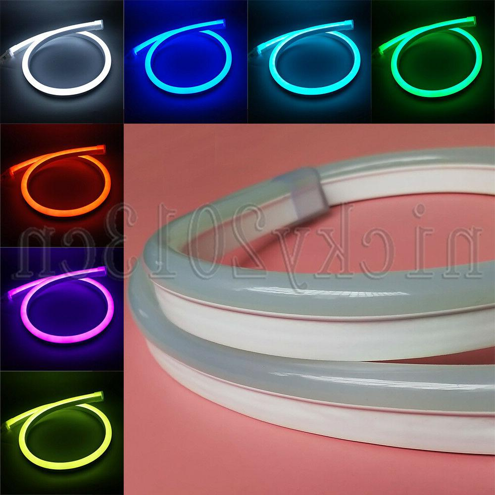 12V 24V 5050 RGB LED Neon Tube Strip