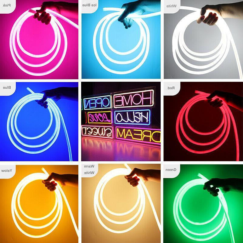 110v 50ft led flex neon rope light