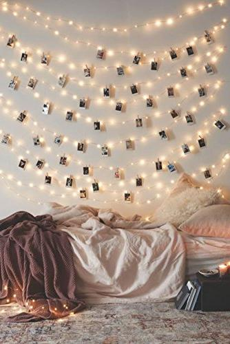20 photo clip string lights